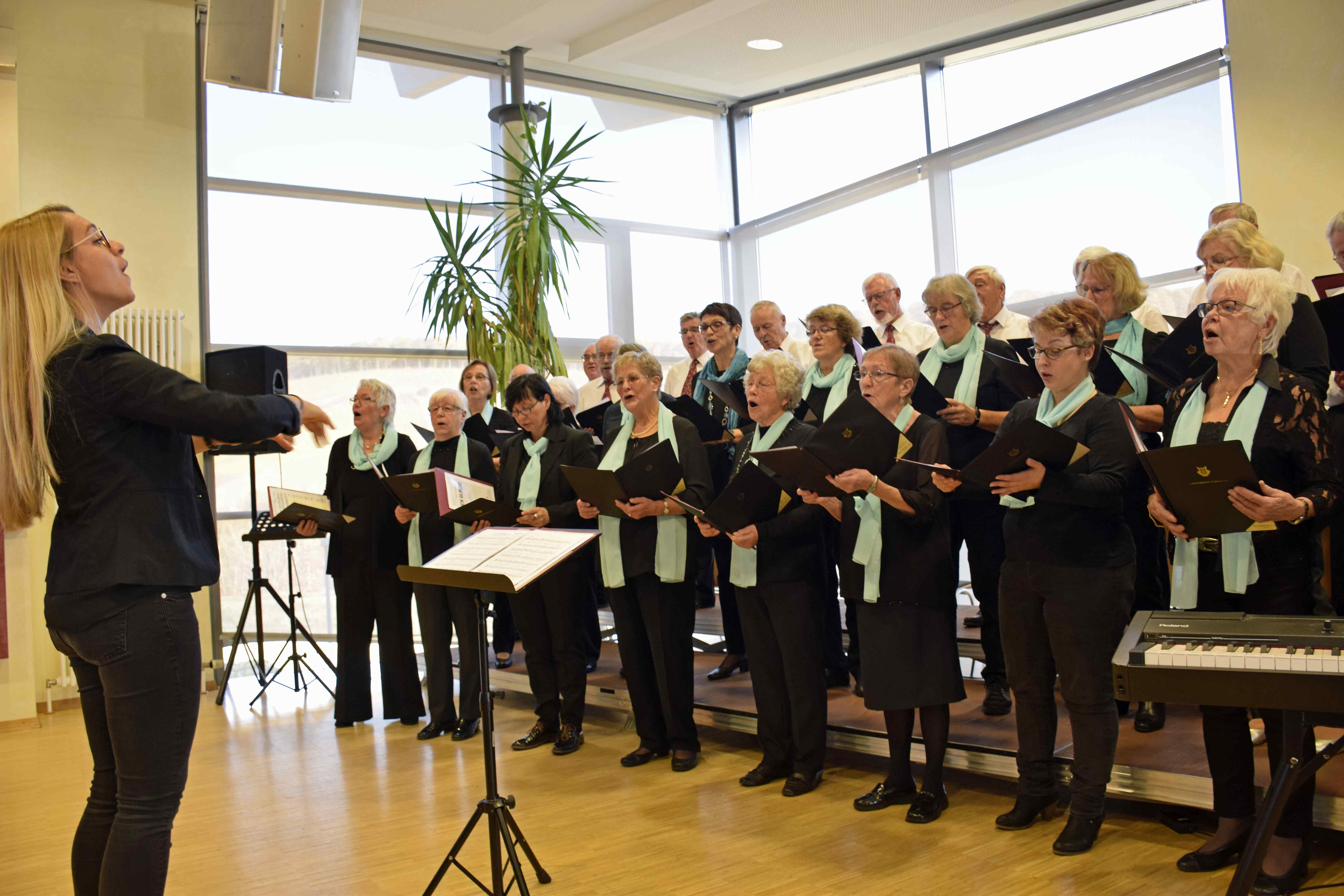 Traditioneller Chor